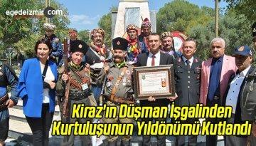 Kiraz'ın Düşman İşgalinden Kurtuluşunun Yıldönümü Kutlandı