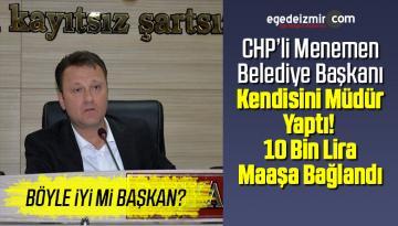 Başkan Aksoy Belediye Şirketine Müdür Oldu! 10 Bin TL Maaş Bağlandı
