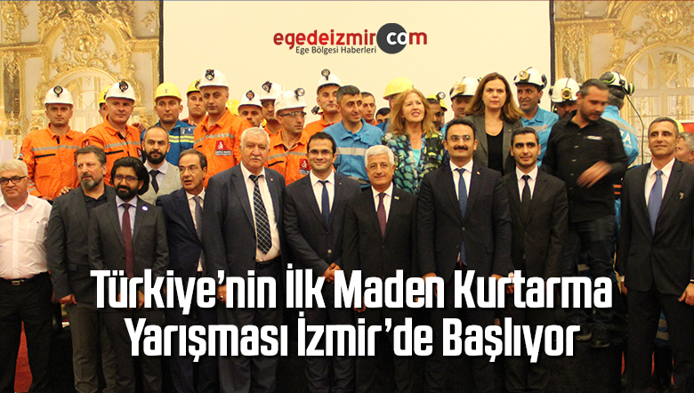 Türkiye'nin İlk Maden Kurtarma Yarışması İzmir'de Başlıyor