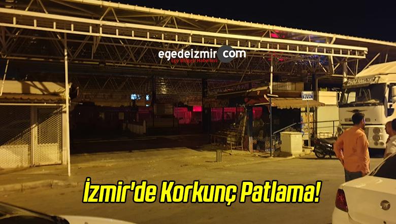 İzmir'de Korkunç Patlama!