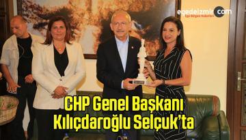 Kemal Kılıçdaroğlu Selçuk İlçesinde Belediyeyi Ziyaret Etti