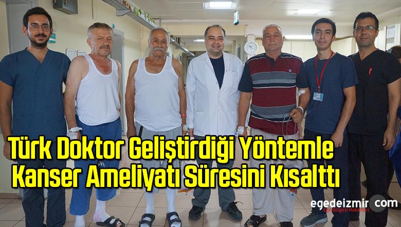 Türk Doktor Geliştirdiği Yöntemle Kanser Ameliyatı Süresini Kısalttı