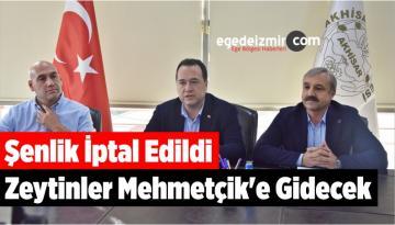 Şenlik İptal Edildi Zeytinler Mehmetçik'e Gidecek