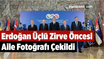 Erdoğan Üçlü Zirve Öncesi Aile Fotoğrafı Çekildi