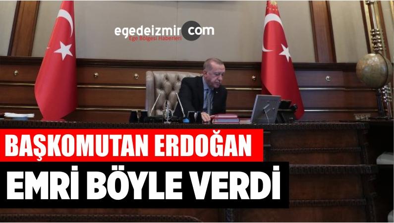 Başkomutan Erdoğan Barış Pınarı Harekatının Emrini Böyle Verdi