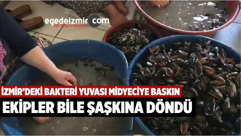 İzmir'de Sağlıksız Koşullarda Üretilen 100 Kilo Midyeye El Konuldu