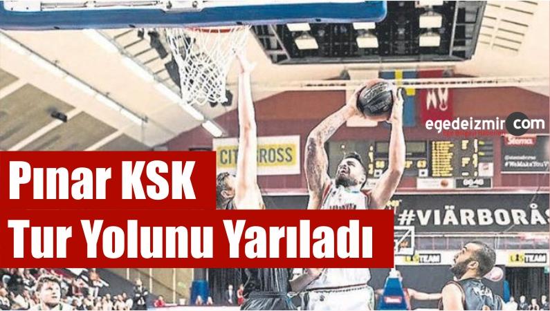 Pınar KSK Tur Yolunu Yarıladı