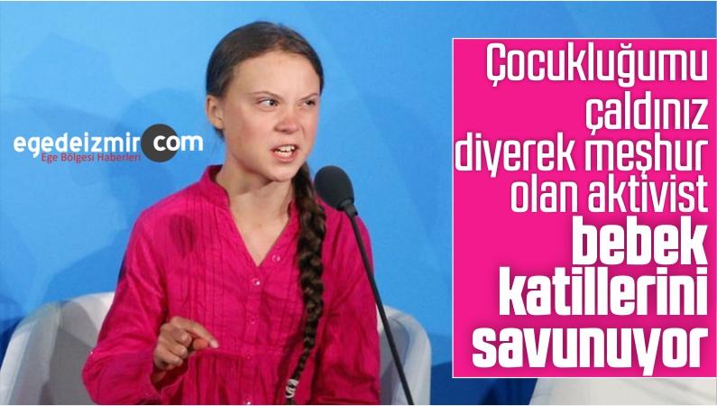 Aktivist Greta Thunberg'den YPG Paylaşımı
