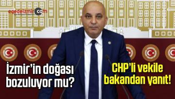 Taş Ocağı ve RES'ler İzmir'in Doğasını Bozuyor İddiası