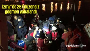 Sahil Güvenlik Ekiplerince 267 Düzensiz Göçmen Yakalandı