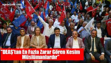 """""""DEAŞ'tan En Fazla Zarar Gören Kesim Müslümanlardır"""""""