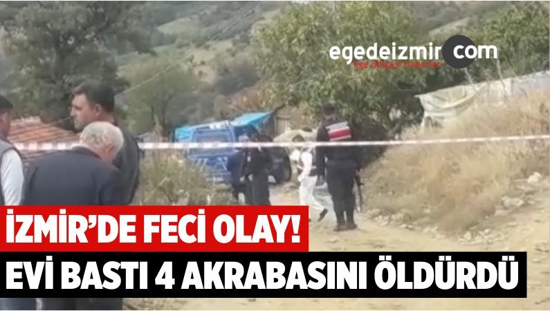 İzmir'de Aynı Aileden 4 Kişi Silahla Vurularak Öldürülmüş Halde Bulundu