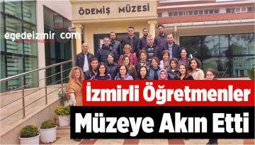 İzmirli Öğretmenler Müzeye Akın Etti
