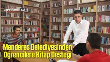 Menderes Belediyesinden Öğrencilere Kitap Desteği