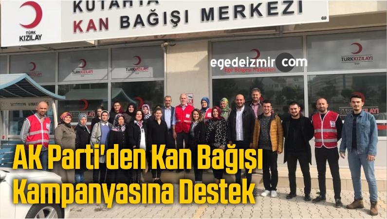 AK Parti'den Kan Bağışı Kampanyasına Destek