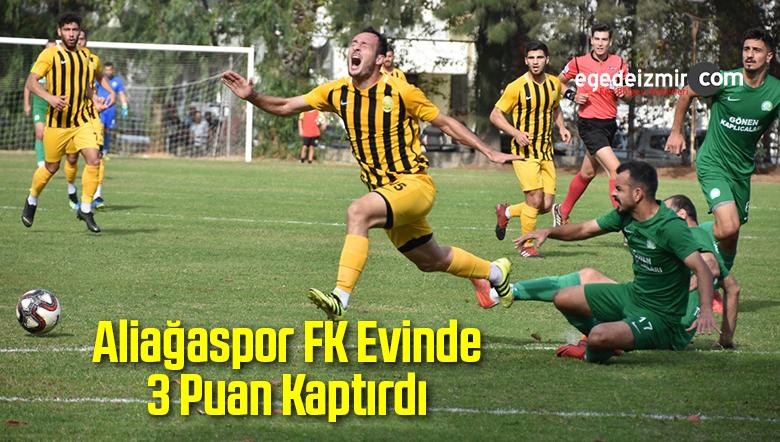 Aliağaspor FK Evinde 3 Puan Kaptırdı