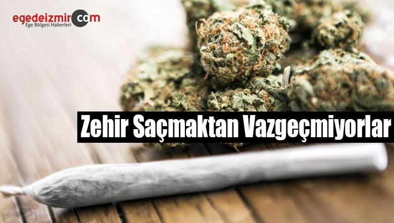 İzmir'de Uyuşturucu Operasyonunda 6 Şüpheli Gözaltına Alındı