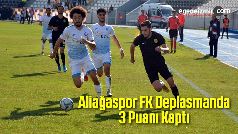 Aliağaspor FK Deplasmanda 3 Puanı Kaptı