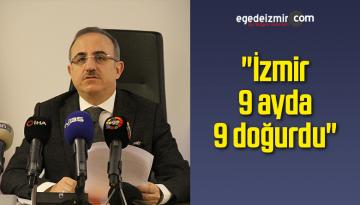 "AK Parti'li Sürekli: ""İzmir 9 ayda 9 doğurdu"""