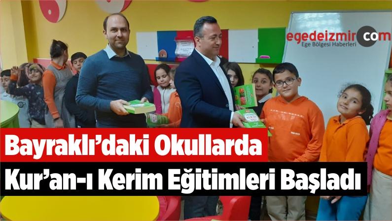 Bayraklı'daki Okullarda Kur'an-ı Kerim Eğitimleri Başladı
