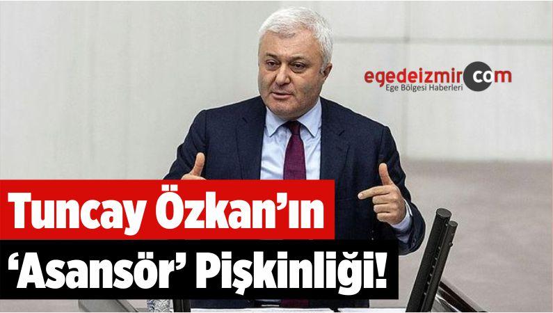 Tuncay Özkan'ın 'Asansör' Pişkinliği!