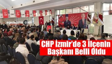 CHP İzmir'de Urla,Seferihisar Ve Bayındır Başkanları Belli Oldu