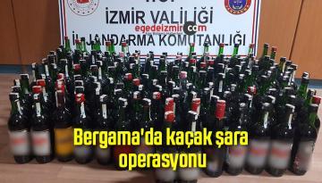 Bergama'da kaçak şarap operasyonu