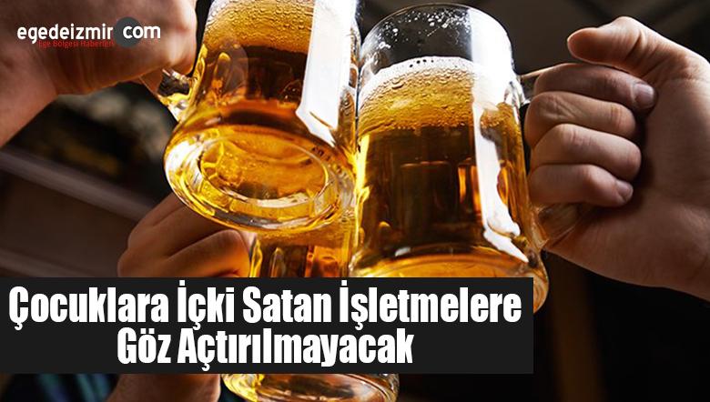 Bodrum'da Çocuklara İçki Satan İşletmelere Göz Açtırılmayacak