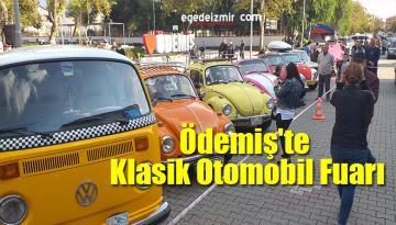 İzmir'in Ödemiş İlçesinde Klasik Otomobil FuarıAçıldı