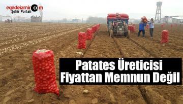 İzmir'in Ödemiş İlçesinde Patates Üreticisi Fiyattan Memnun Değil