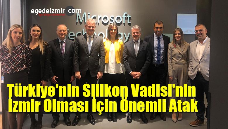 Türkiye'nin Silikon Vadisi'nin İzmir Olması İçin Önemli Atak