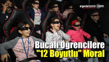 """İzmir'in Buca İlçesinde Öğrencilere """"12 Boyutlu"""" Moral"""