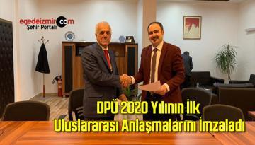 DPÜ 2020 Yılının İlk Uluslararası Anlaşmalarını İmzaladı