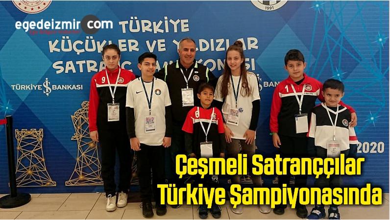 Çeşmeli Satranççılar Türkiye Şampiyonasında