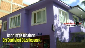 Bodrum'da Binaların Dış Cepheleri Güzelleşecek