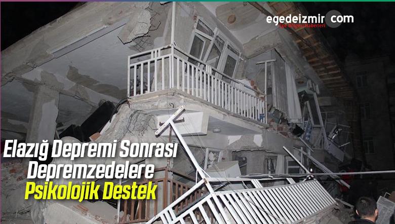 Elazığ Depremi Sonrası Depremzedelere Psikolojik Destek