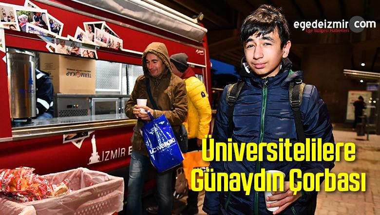 Üniversitelilere Günaydın Çorbası