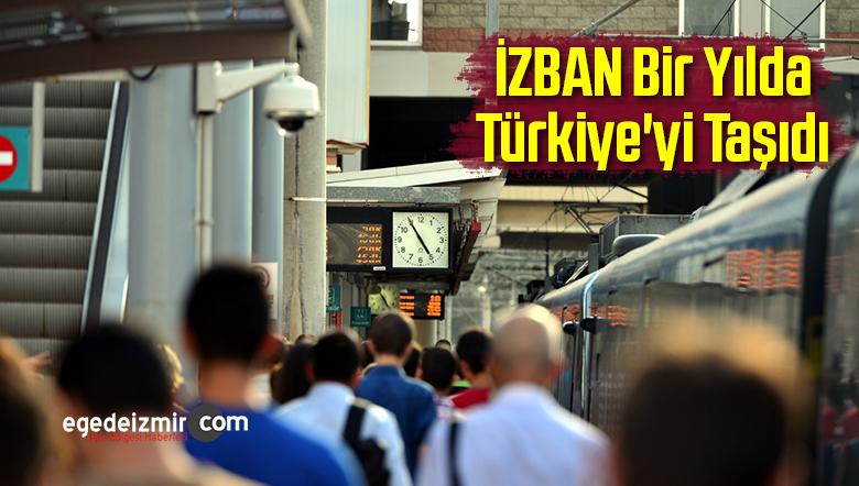 İZBAN Bir Yılda Türkiye'yi Taşıdı
