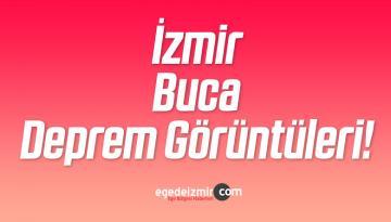 İzmir Buca Deprem Görüntüleri! Acayip Korktuk Değil mi İzmirliler