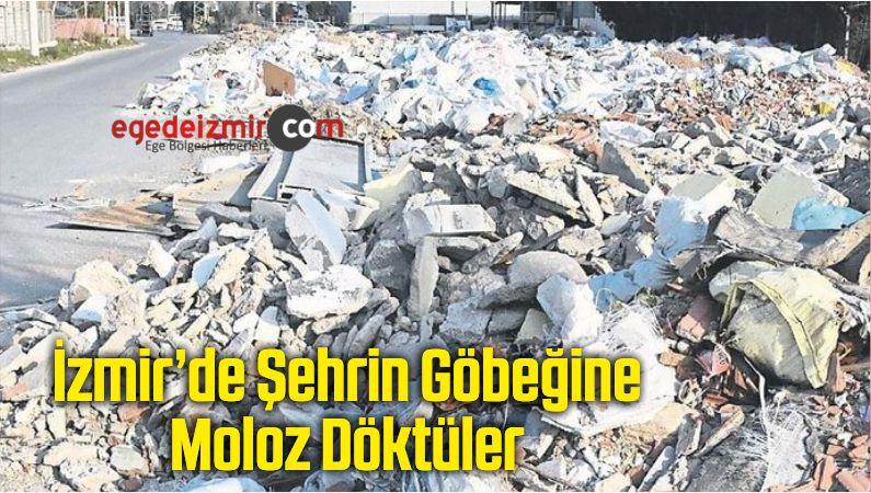 Şehrin Göbeğine Moloz Döktüler