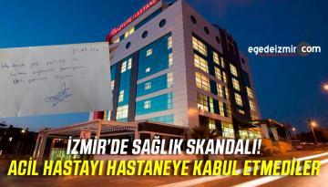İzmir'de Sağlık Skandalı! Avukat Özvatan'ı Acile Almadılar! Tedavi Etmediler