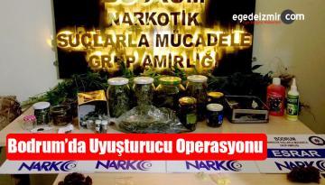 Muğla'nın Bodrum İlçesinde Uyuşturucu Operasyonu