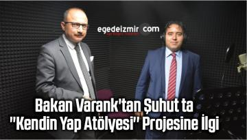 """Bakan Varank'tan Şuhut ta """"Kendin Yap Atölyesi"""" Projesine İlgi"""