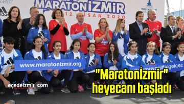"""""""Maratonİzmir"""" heyecanı başladı"""
