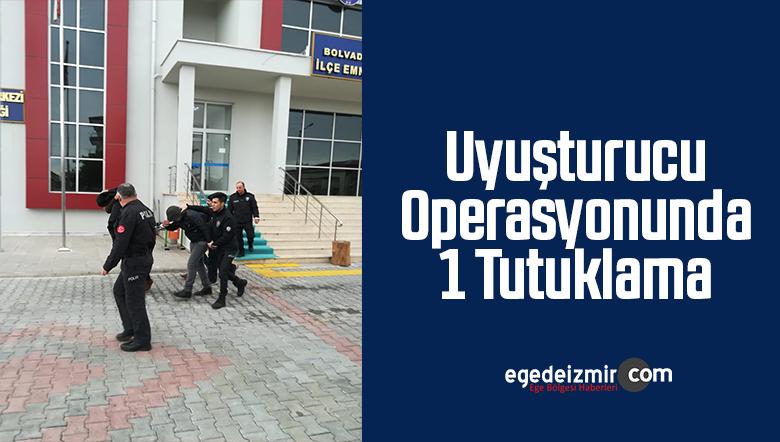 Afyonkarahisar'daki Uyuşturucu Operasyonunda 1 Tutuklama