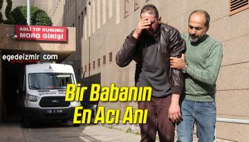 İzmir'de Vahşice Öldürülen Hamile Kadın Ve Çocuğu Toprağa Verildi