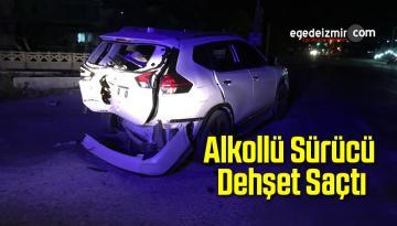 Alkollü Olduğu Belirtilen Sürücü Dehşet Saçtı: 4 Yaralı