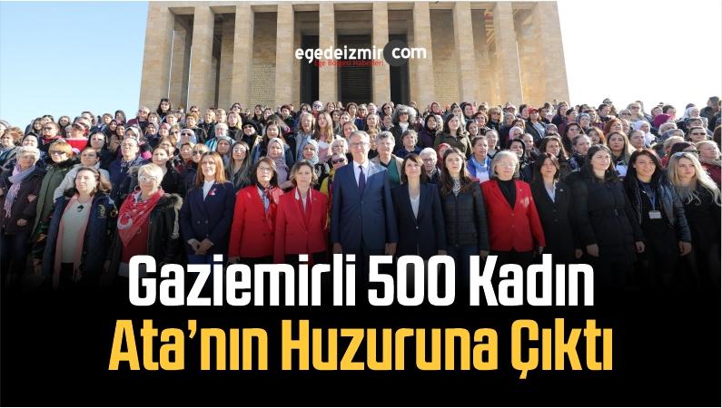 Gaziemirli 500 Kadın Ata'nın Huzuruna Çıktı