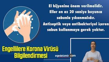Engellilere Korona Virüsü Bilgilendirmesi