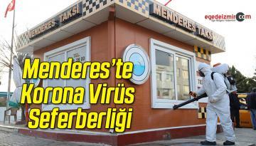 Menderes'te Korona Virüs Seferberliği